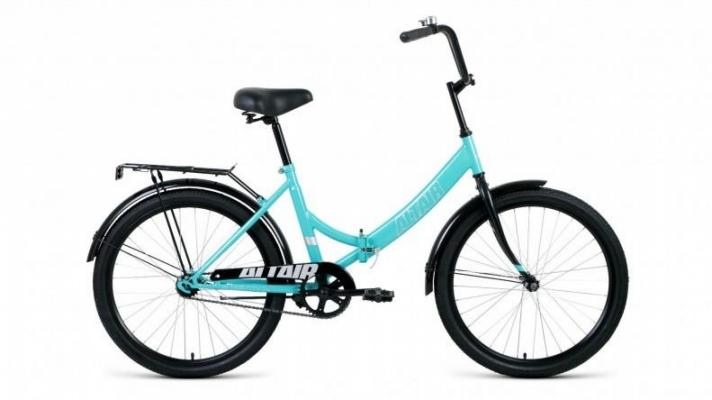 Велосипед Altair City 24 (Голубой-черный)