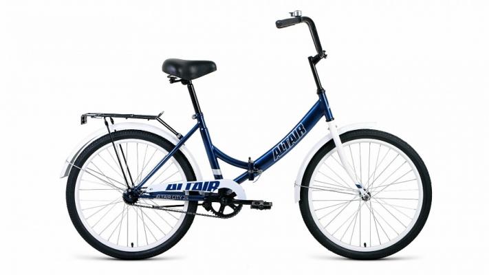 Велосипед Altair City 24 (син/бел)